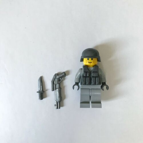 Military Minifigure Custom Lego Soldier With Brickarms Gun//Knife