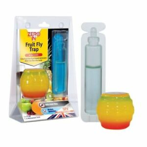 Zero-In-Fruit-Fly-Trap-Catcher-Flying-Insect-Killer-Pest-Discreet-Chemical-Free