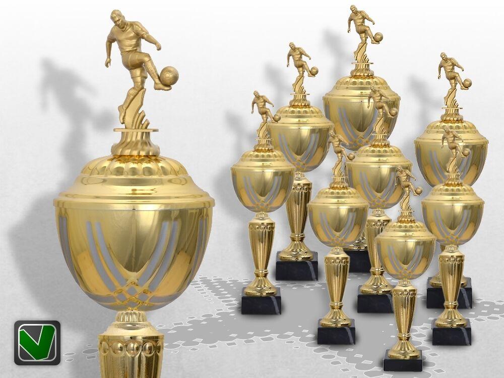 8er Fussball Pokale Pokale Pokale mit Gravur günstig kaufen TOP Pokale GOLDEN PRESTIGE Pokal b11174