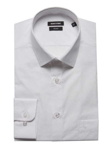 Remus Uomo Relaxed Fit Shirt White