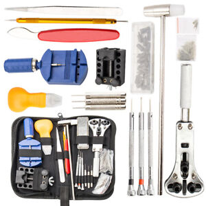 144x-Outil-Reparation-de-montre-Watch-Repair-Tool-Kit-Back-Case-Remover-horloger