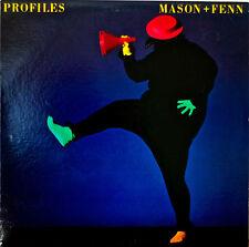 MASON + FENN: Profiles-M1985LP PROMO NICK MASON (PINK FLOYD) RICK FENN (10cc)