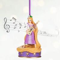 Disney Store 2016 Rapunzel Singing Musical Sketchbook Figure Ornament Tangled