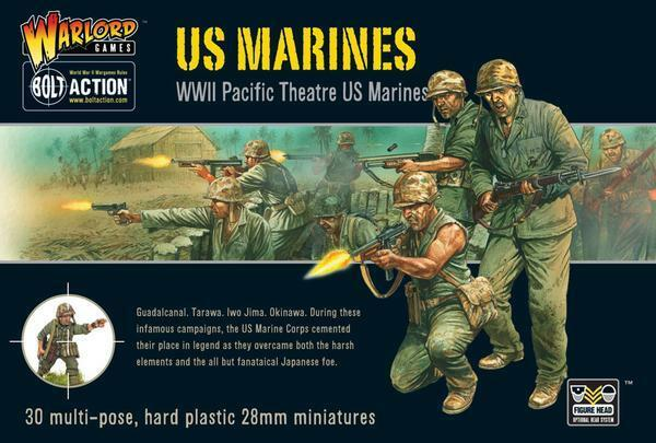 Us Marines - Guerre Mondiale 2 - Boulons Boulons Boulons Action - Warlord Games 48c5fa