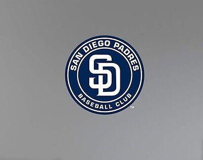 Fanartikel Sporting San Diego Padres 26.7cmx26.7cm Fathead Offizielles Mlb Team Logo Wand Grafiken