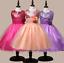 Wedding-Glitter-Sequin-Tulle-Flower-girl-Dress-Toddler-Bridesmaid-Easter-K101 thumbnail 3