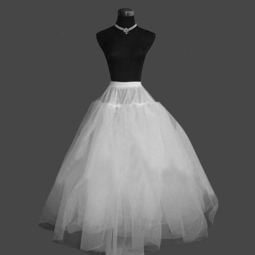 Hoopless full étage longueur 3 filets feuillet 1 mariage crinoline jupon jupon