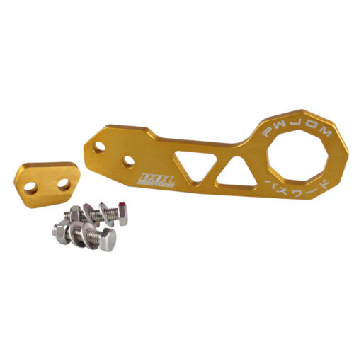 Universal GOLD JDM Style Aluminum Alloy Racing Car Rear Tow Hook for Honda Civic