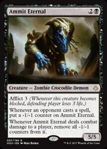 MTG-Magic-R-Hour-of-Devastation-Ammit-Eternal-FOIL-NM