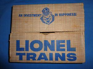 Lionel Set Box 1543 For 627 Lehigh Valley Center Cab Diesel