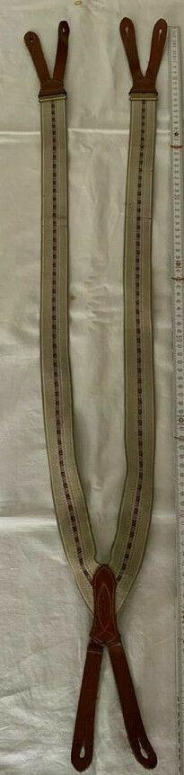 Hosenträger zur Trachtenlederhose Lederhosenträger Stresemann Dandy Retro Shabby