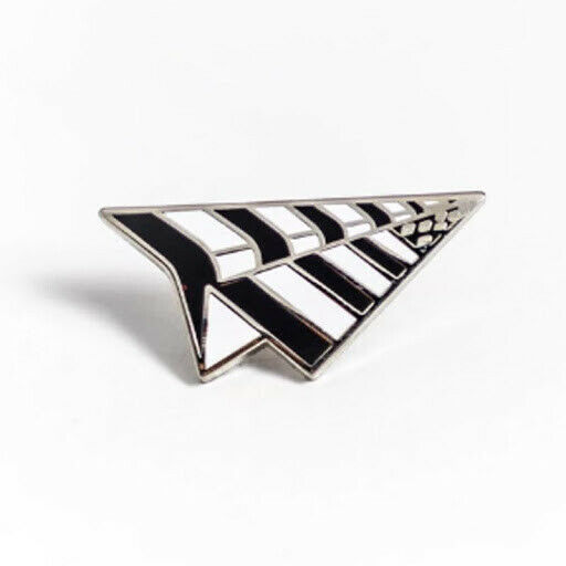 Roc Nation Paper Planes Pin Black and White Set of 11 < 11 Pieces per Order >