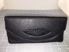 Judd's NEW Comoy's Black Leather Tobacco Pouch Combo