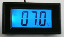Blue DC0-199.9V LCD Digital Volt Panel Meter/Voltmeter  New