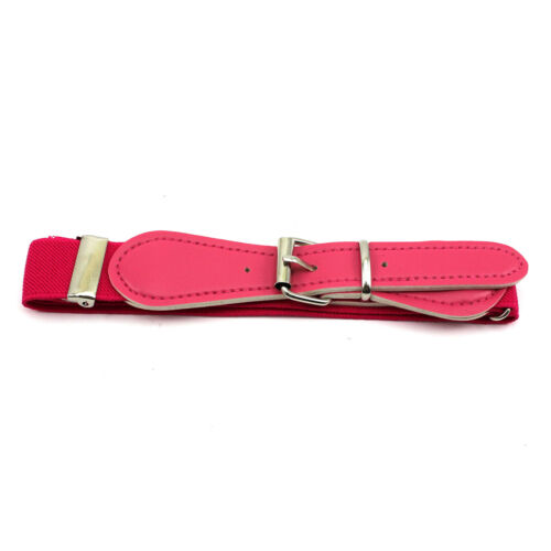 multi Candy Color Adjust Waistband Waist Belt Band for Kids Children