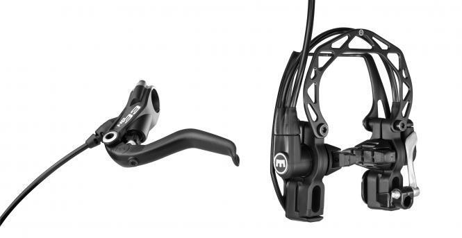 Brems-Set Magura HS-33 R mit 2 Finger Bremshebel vorn  oder hinten black  on sale 70% off
