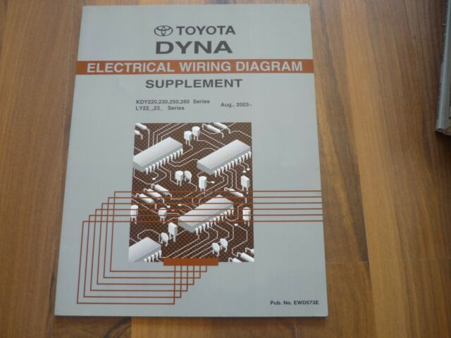 TOYOTA DYNA 220 230 250 ELECTRICAL WIRING DIAGRAM Update ...