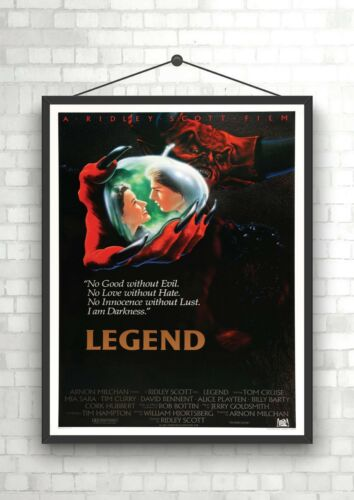 Legend Vintage Classic Large Movie Poster Art Print A0 A1 A2 A3 A4 Maxi