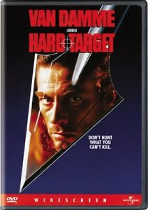 HARD TARGET New Sealed DVD Jean-Claude Van Damme