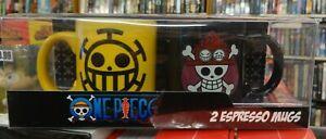 One-Piece-Trafalgar-Law-amp-Ace-Official-Anime-amp-Manga-Espresso-Mug-Set-ABYMUG423