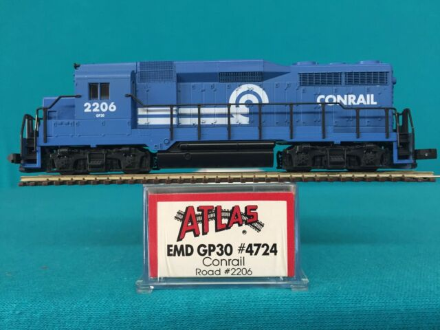 4724 Atlas N Scale GP30 Conrail NIB