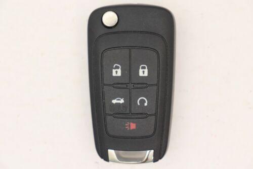 For Chevy OEM Flip Key Remote FCC ID:P4O9MK74946931  P//N 13584829    5 B//Trunk