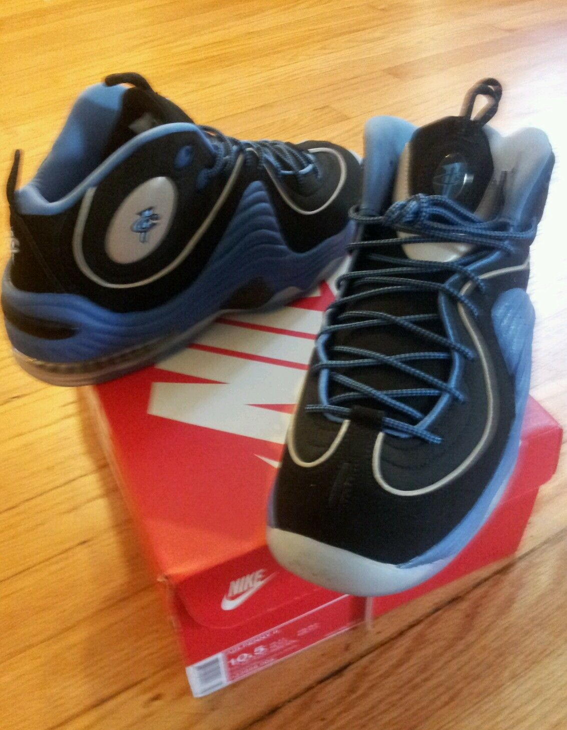 half off 9890c 4253c Nike Retro Air Penny 2 ROYAL, New New New Men Size 10.5 U.S,OG