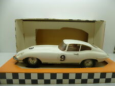 Scalextric Super 124 Ace Series E Type Jaguar in White, boxed and car is totally