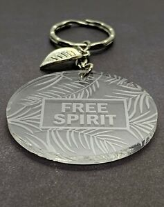 Free-Spirit-Engraved-Acrylic-Keyring-Leaf-Charm-Stocking-Stuffer-Gift-Ideas