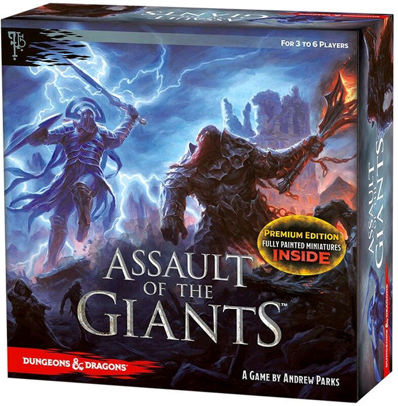 Assault of the Giants - Premium Edition Board Game D&D Dungeons Dragons NEU OVP