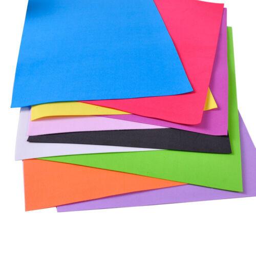 10 Sheets A4 EVA Foam Funky Children Kids Handmade Paper Hand Craft DIY Gift