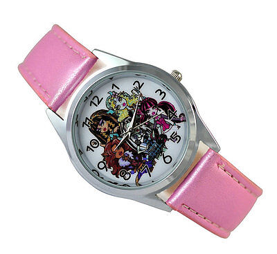 Monster High Girl Child  Fashion Watch Xmas Wrist Xmas Gift