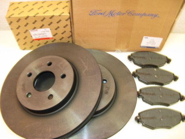 ORIGINAL BREMSE VORNE FORD S-MAX 2,0 163PS+2,2 DIESEL AB 10/2008 1500158 1747043