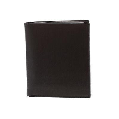 New Paul /& Taylor Men/'s Large Leather Big Hipster Bifold Billfold Wallet