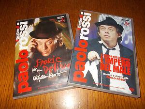 LOTTO 2 DVD TEATRO PAOLO ROSSI L'IMPERO DEL MALE STORIE PER DELIRIO ORGANIZZATO - Italia - LOTTO 2 DVD TEATRO PAOLO ROSSI L'IMPERO DEL MALE STORIE PER DELIRIO ORGANIZZATO - Italia