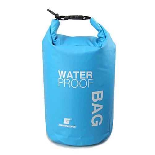 2L Sports Waterproof Dry Bag Backpack Floating Boating Kayaking Camping  L/&6