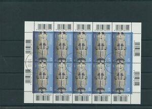 Autriche-Autriche-Vintage-2010-Mi-2860-Timbres-Used-Feuilles-Miniature-Klbg