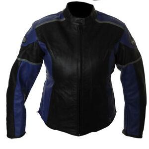 the best attitude 8f353 8300a Details zu RK Sport Katrina Damen Schwarze Blau Sommer Motorrad Motorrad  Jacke