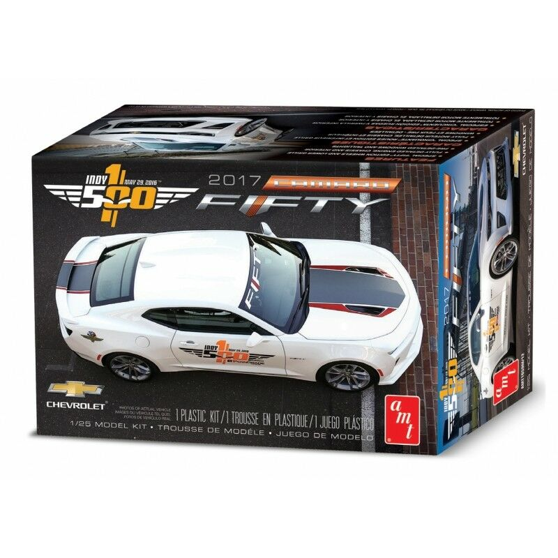 AMT 1 20 2017 Chevy Camaro 'Fifty' Pace Car