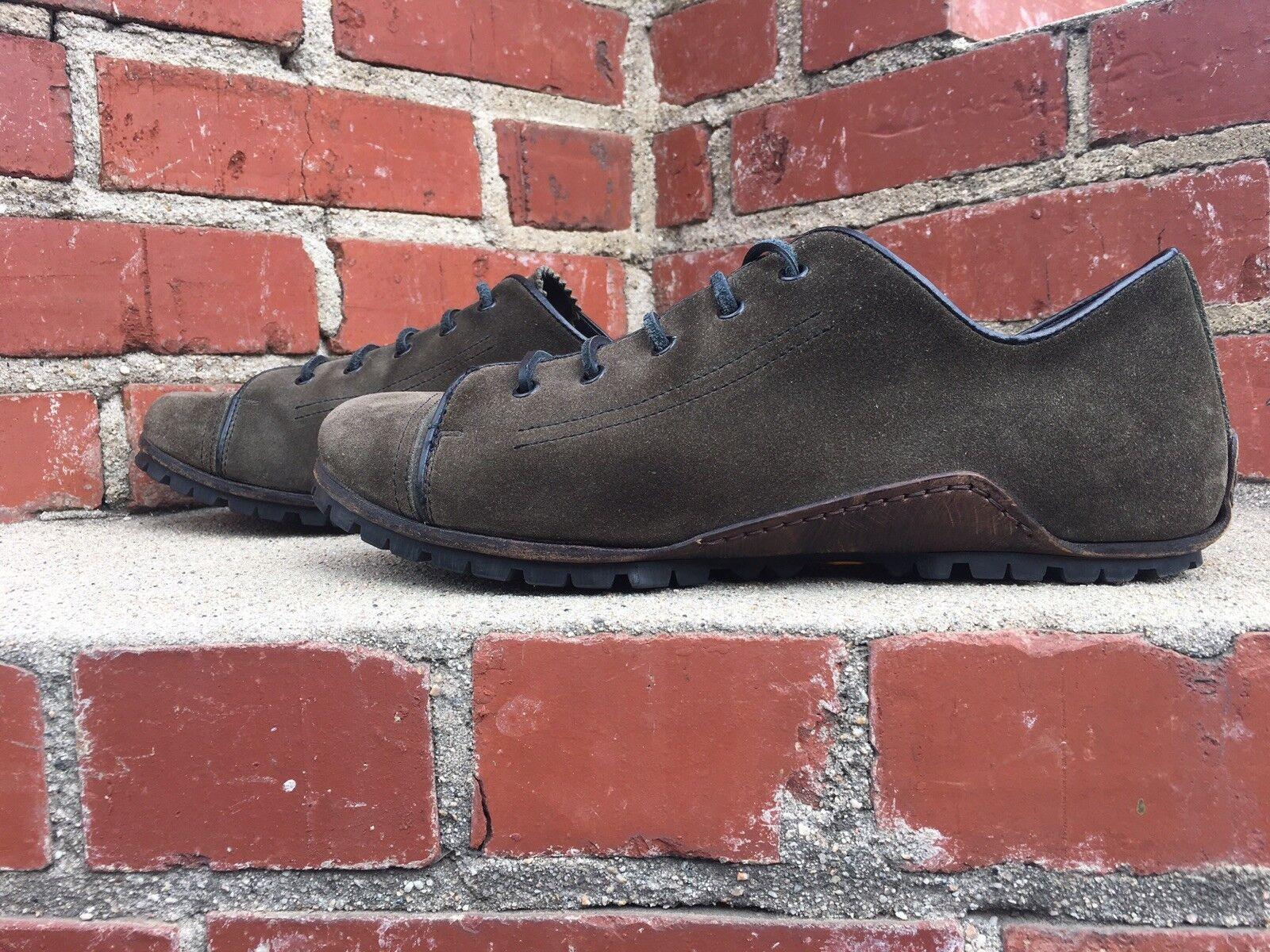 Bruno Bordese verde italiano Suela Vibram Informal Zapato Zapato Zapato De Gamuza Para Mujeres Tamaño 11.5  Seleccione de las marcas más nuevas como