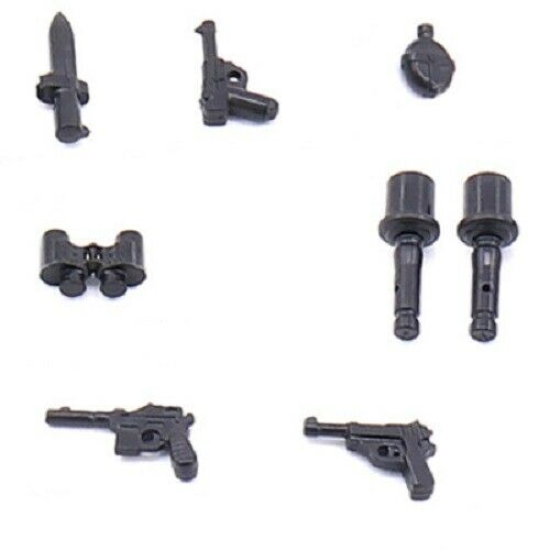 **LOTS OF CHOICES** WW2 WWII weapons gears compatible w// LEGO minifigs UK stock