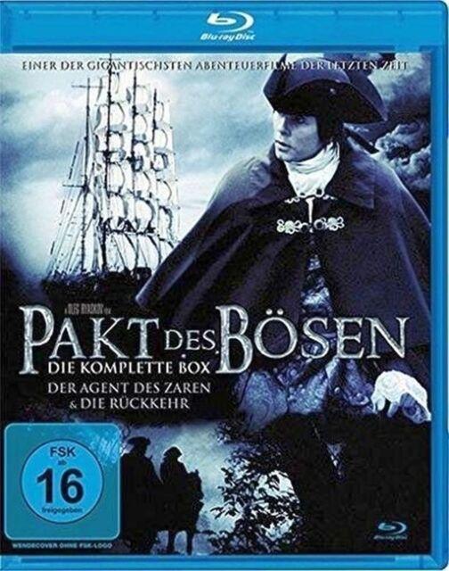 Pakt des Bösen - Die komplette Box - Teil 1+2 - Blu-ray/NEU/OVP