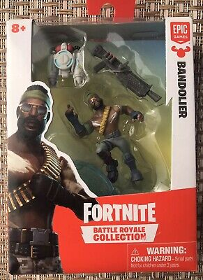 Fortnite Battle Royale Collection Bandolier Single Figure Pack 2019 New Ebay
