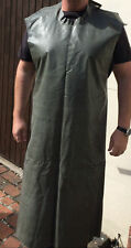 Swedish Army  Rubber Full Length apron Protect from chemical, solvent, oil