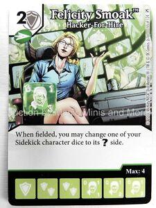 Details about Green Arrow Flash * FOIL * FELICITY SMOAK Hacker For Hire #55  Dice Masters card