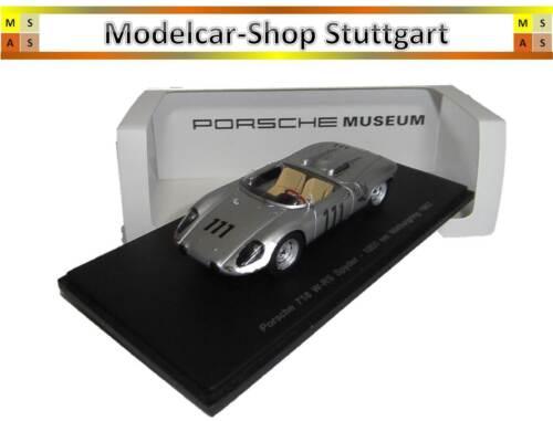 MAP02017212 Porsche 718//8 W-SR Spyder Spark 1:43 1000 km Nürburgring 1962