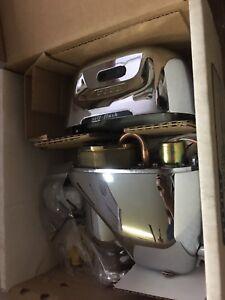 Toto Tew1dnc Sensor Toilet Flush Valve Exposed 3 5 Gpf Battery Powered Ebay