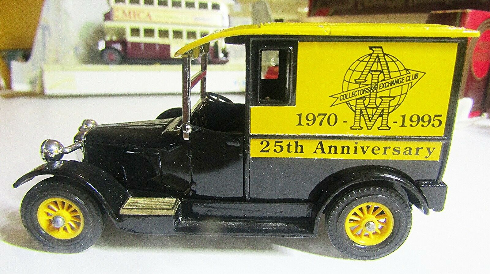 MATCHBOX Y-5 MODELS OF YESTERYEAR 1927 TALBOT IN  BOX - 25th ANNIVERSARY A.I.M.