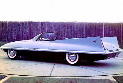 1956 Chrysler Dart Concept Car - Promotional Photo Poster
