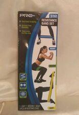 Pro Strength Resistance Band Set 3 Levels-heavy Medium Light Toning Rehab PT